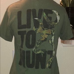 "Browning ""Live to Hunt"" T-Shirt"